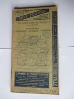 Livret Guides Du Touriste THIOLIER De 1923 - LUXEMBOURG / LORRAINE / ALSACE / VOSGES  - 124 Pages - 25 Photos - Dépliants Touristiques