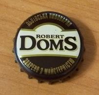 Beer Bottle Cap Capsule Kronkorken Ukraine Lviv Robert DomS - Bier