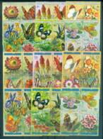 Burundi 1973 Flowers, Insects, Butterflies CTO - Burundi