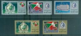 Burundi 1973 INTERPOL 50th Anniv. CTO - Burundi