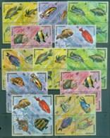Burundi 1974 Tropical Fish, Marine & Freshwater CTO - Burundi