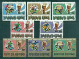 Burundi 1974 World Cup Soccer CTO - Burundi