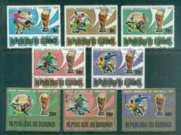 Burundi 1974 World Cup Soccer Munich (faults) CTO - Burundi