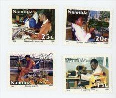 Namibie 1992-Intégration Des Personnes Handicapées-YT 687/90***MNH - Namibie (1990- ...)
