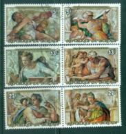 Burundi 1975 Michaelangelo Paintings CTO - Burundi