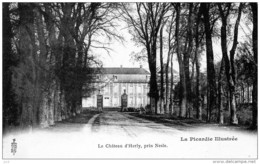 80 - NESLE  - Chateau D'Herly - France