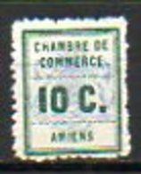FRANCE - 1909 - TIMBRES DE GREVE - Chambre De Commerce D'Amiens - Strike Stamps