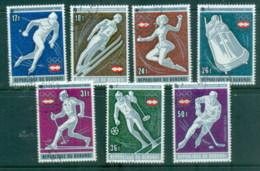 Burundi 1976 Winter Olympics Innsbruck CTO - Burundi