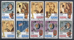Burundi 1977 Telephone Cent, Alaxander Graham Bell Prs CTO - Burundi