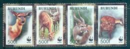 Burundi 2004 WWF Sitatunga Str 4 MUH Lot76131 - Burundi