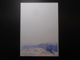 Kopierpapier/Winterlandschaft 10,00 € / Blatt - Advertising