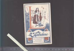 Calendrier Petit Format - 1915 - Teinture La Kabiline - Rare - 8 X 12 Cm Fermé - Voir état - Calendari