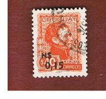 URUGUAY  - SG 1617   - 1975  GENERAL ARTIGAS (OVERPRINTED)     -  USED° - Uruguay