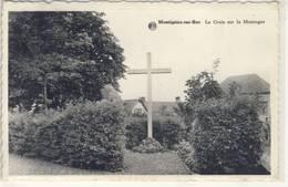 MONTIGNIES-SUR-ROC  LA CROIX SUR LA MONTAGNE 1944 - Honnelles