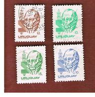 URUGUAY  - SG 1754.1759   - 1980 GENERAL ARTIGAS   -  USED° - Uruguay