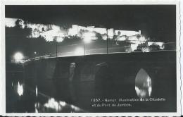 Namen - Namur - Illumination De La Citadelle Et Du Pont De Jambes - 1357 - Belga Phot - Namur