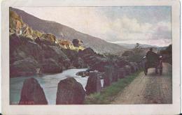 Noorwegen - Norge - Nordland Serie 1078 - Strasse Zwischen Stahlheim Und Voss - 1915 - Norwegen