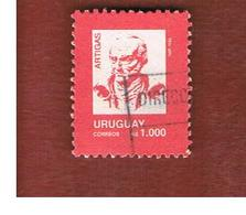 URUGUAY  - SG 1883c   - 1990  ARTIGAS 1000    -  USED° - Uruguay