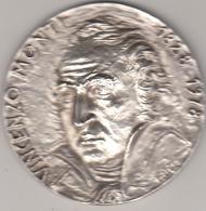 Vincenzo Monti, Maiano Di Fusignano,Ravenna. Medaglia D'argento Scultore Bucci - Italy