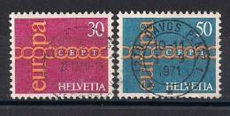 YT N° 882-883 - Oblitéré - EUROPA - Gebraucht