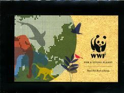 GREAT BRITAIN - 2011  £. 9.05  WORLD WILDLIFE FOUND  PRESTIGE BOOKLET   MINT NH - Carné
