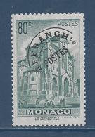 Monaco Préoblitéré - YT N° 2 - Neuf Sans Charnière - 1943 à 1951 - Monaco