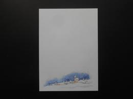 Kopierpapier/Schneelandschaft - 10,00 € / Blatt - Publicités