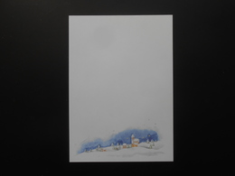 Kopierpapier/Schneelandschaft - 10,00 € / Blatt - Advertising