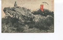 CPA -  SAINT BRICE - Environs De COGNAC- DOLMEN DE GARDEPEE  - Circulée - - France
