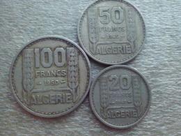 Algeria  20 - 100 Franc - Algérie
