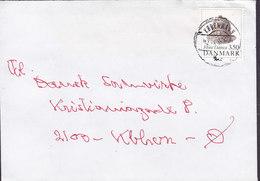 Denmark KØBENHAVN 1990 Cover Brief 3.50 Kr. Flora Danica Stamp - Briefe U. Dokumente
