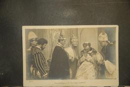 CP, Religion, Type Carte Photo Couronnement Du Cardinal SARTO Edition EP Dos Simple Precurseur - Altri