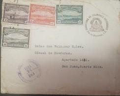 O) 1931 HONDURAS, VIEW OF TEGUCIGALPA  - LANDSCAPE, SCT O90 2c -SC O92 6c - SC O93 10c - SC O91 5c, SECRETARY OF FOREIGN - Honduras