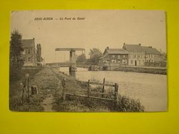 TOP A VOIR !! DEUX ACREN ( LESSINES ATH ) - PONT DU CANAL ( VUE DU HALAGE - 1913 ) - Lessines