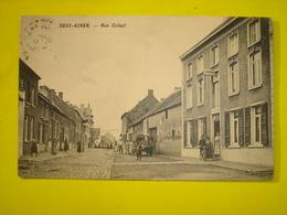 CPA - DEUX ACREN ( LESSINES ATH ) - RUE CULAUT ( !! ) ( SUPER ANIMATION - 1913 ) - Lessen