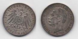 + ALLEMAGNE  + 3 MARKS  1912 + - [ 2] 1871-1918 : German Empire