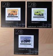 "FRANCE 2018 COLLECTOR ""Voitures Mythique Renault R4 R5 R16 "" - MTAM-2018-20 - Collectors"