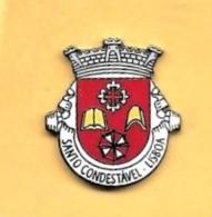 PIN'S - PARISH: SANTO CONDESTÁVEL (COUNTY: LISBOA / DISTRICT: LISBOA) (PORTUGAL) (01) - Villes