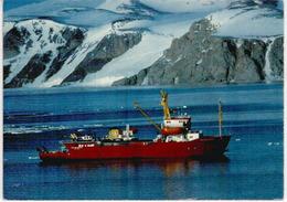 Navire MV.POLAR QUEEN In Antarctic For German Antarctic North'Victoria Land Expedition - Ansichtskarten