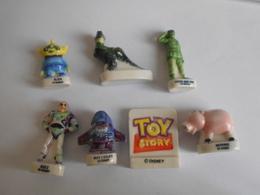 LOT 7 Fèves De La Série Toy Story Pixar DISNEY  1997 Fève - Disney