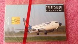 Carte Téléphonique Malev Hungarian Airlines 1992 - Personajes
