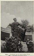 HALLE (1500) : HAL - LE MONUMENT ERIGE EN MEMOIRE DES SOLDATS MORTS POUR LA PATRIE EN 14/18. CPA. - Halle