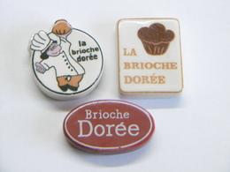 """Lot De Fèves """"La Brioche Dorée"""" - Charms"""