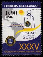 Ecuador 2006 Lions Umounted Mint. - Ecuador