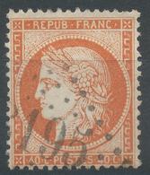 Lot N°44766   Variété/n°38, Oblit GC 3195 Ronchamp, Haute-Saône (69), Ind 4, Fond Ligné Horizontal - 1870 Siege Of Paris