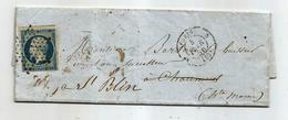 - SEINE - PARIS - Etoile Muette S/26 Centimes Présidence N°10 + Càd Type 15 - 1854 - 1852 Louis-Napoléon