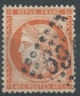 Lot N°44767   Variété/n°38, Oblit GC, Fond Ligné Horizontal - 1870 Besetzung Von Paris
