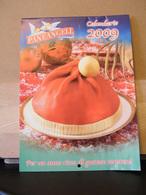 MONDOSORPRESA, (LB20) CALENDARIO 2009 PANEANGELI PANE ANGELI - Calendari