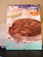 MONDOSORPRESA, (LB20) CALENDARIO 2011 PANEANGELI PANE ANGELI - Calendari