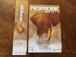 Marque Page Duo Expo Jardin Des Sciences - Bookmarks